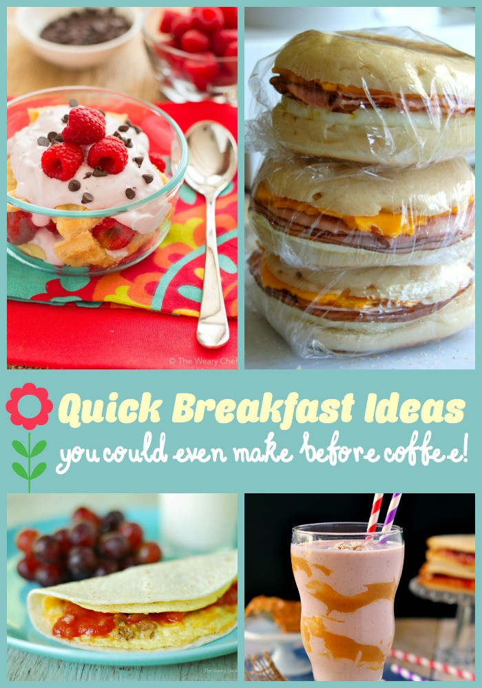 Fast Breakfast Recipes  Quick Breakfast Ideas You Could Even Make Before Your