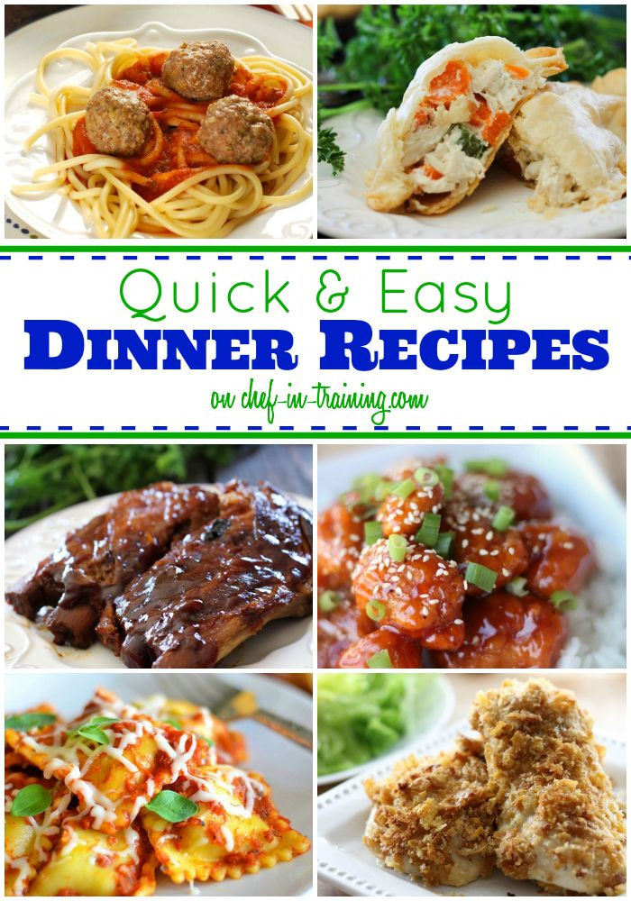 Fast Easy Dinner  22 best images about Quick Dinner Ideas on Pinterest