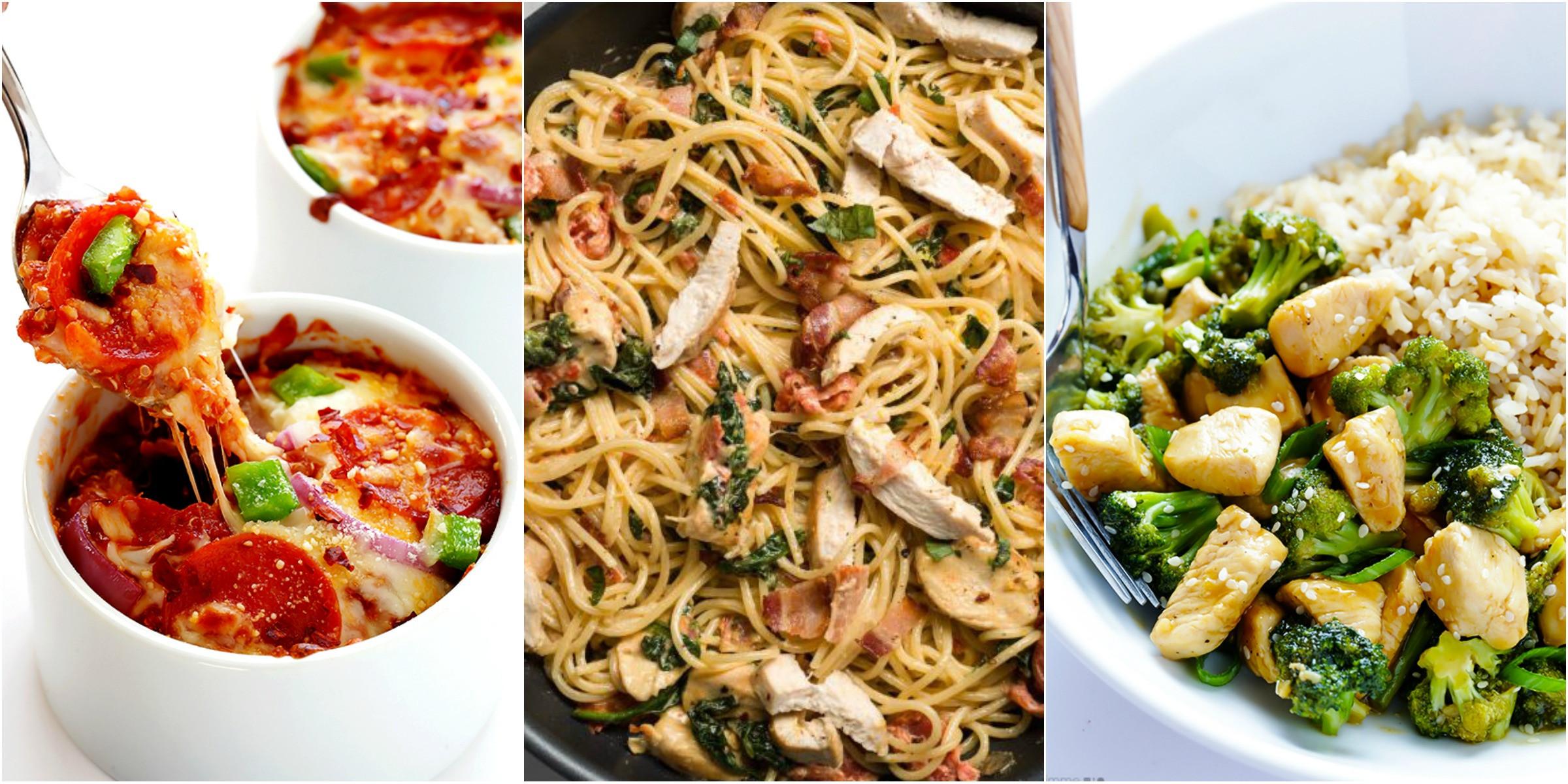 Fast Easy Dinner  20 Quick & Easy Dinner Ideas Recipes for Fast Family