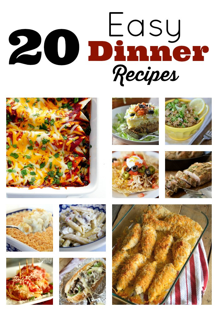 Fast Easy Dinner Recipies Meals in Minutes Easy Dinner Recipes