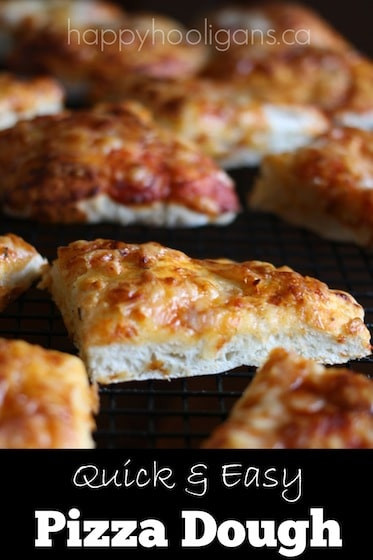 Fast Pizza Dough  The Best No Knead No Rise Pizza Dough to Make with Kids