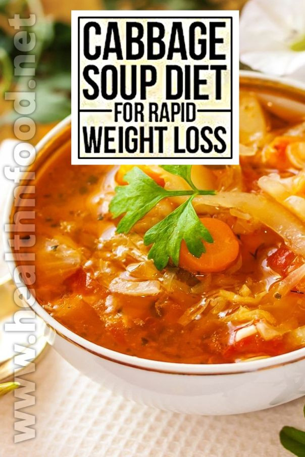 Fat Burning Cabbage Soup  Cabbage Fat Burning Soup Recipe for Weight Watchers