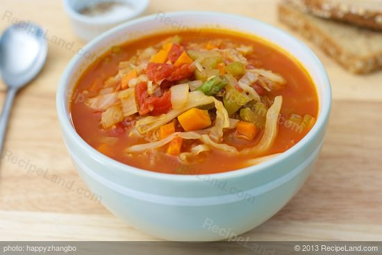 Fat Burning Cabbage Soup  Cabbage Fat Burning Soup Recipe