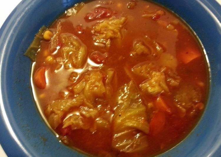 Fat Burning Cabbage Soup  Fat Burning Cabbage Soup Recipe by Tiffany Rubbert Cookpad