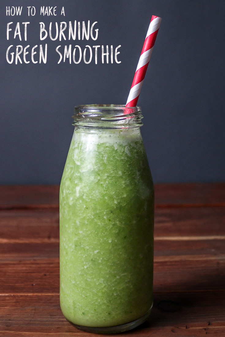 Fat Burning Smoothies  How to Make a Fat Burning Green Smoothie Video
