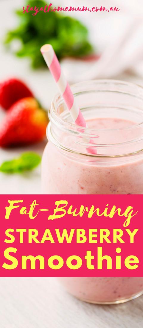 Fat Burning Smoothies  Fat Burning Strawberry Smoothie