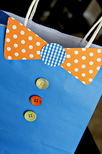 Father'S Day Dinner  DIY Tutorial Father 039 s Day Bow Tie Gift Bag See