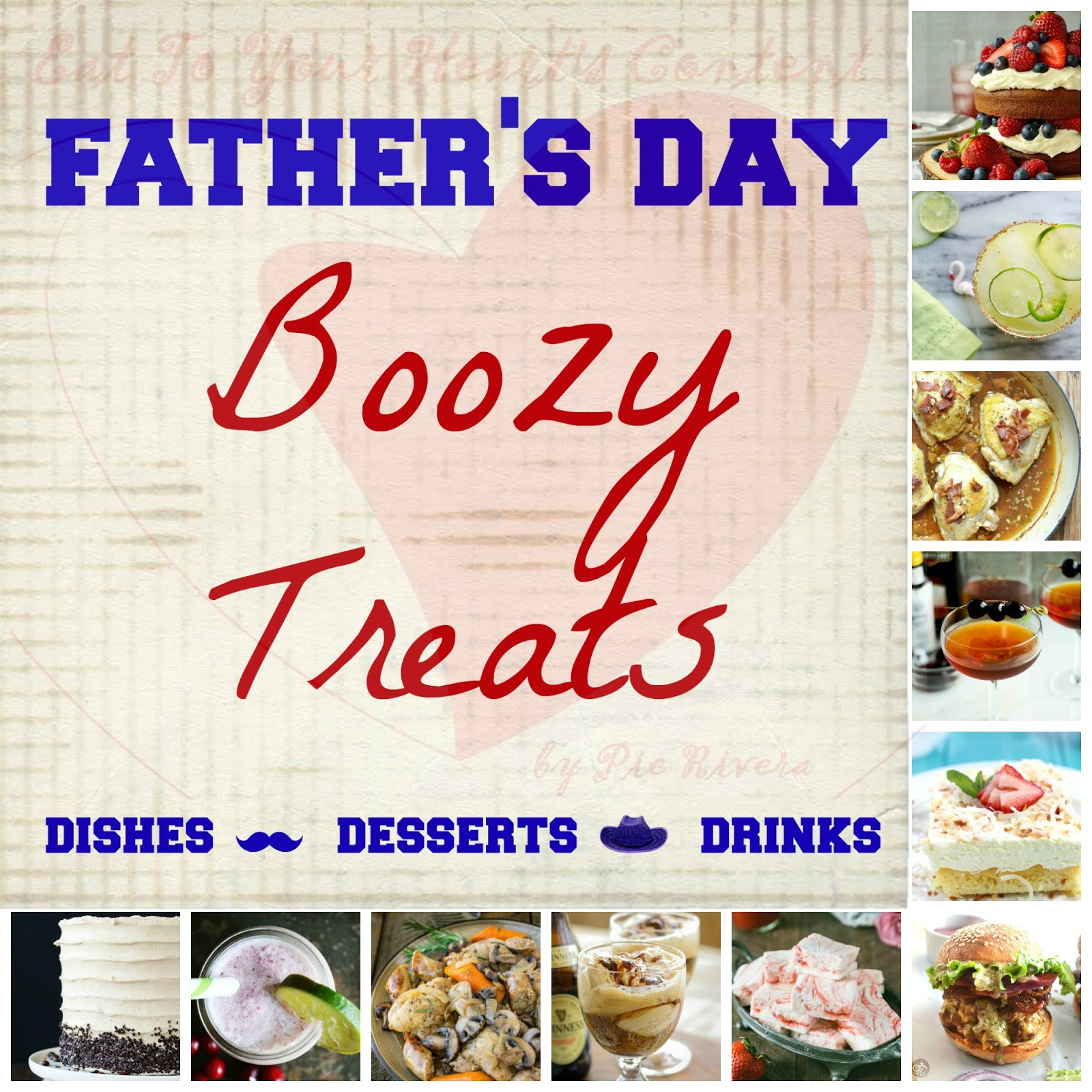 Fathers Day Desserts  Eat To Your Heart s Content Deliriously Delicious Dining
