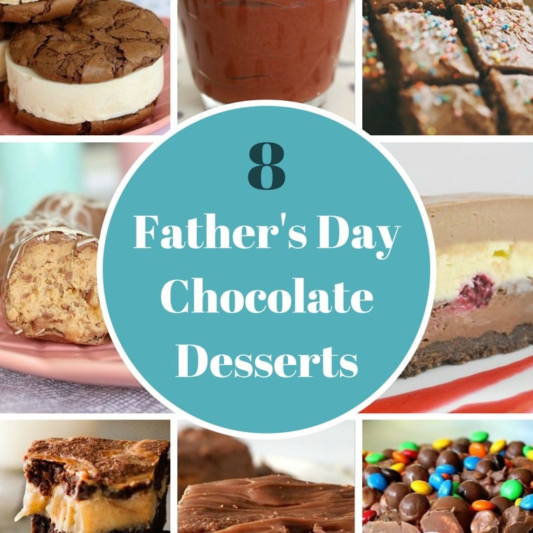 Fathers Day Desserts  8 Totally Delicious Father s Day Chocolate Desserts Bake