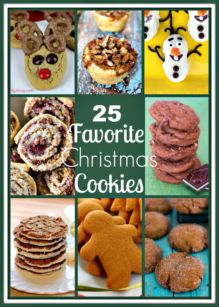 Favorite Christmas Cookies  25 Favorite Christmas Cookies Upstate Ramblings