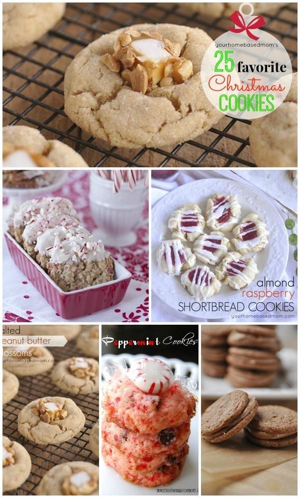 Favorite Christmas Cookies  25 Favorite Christmas Cookie Recipes Your Homebased Mom