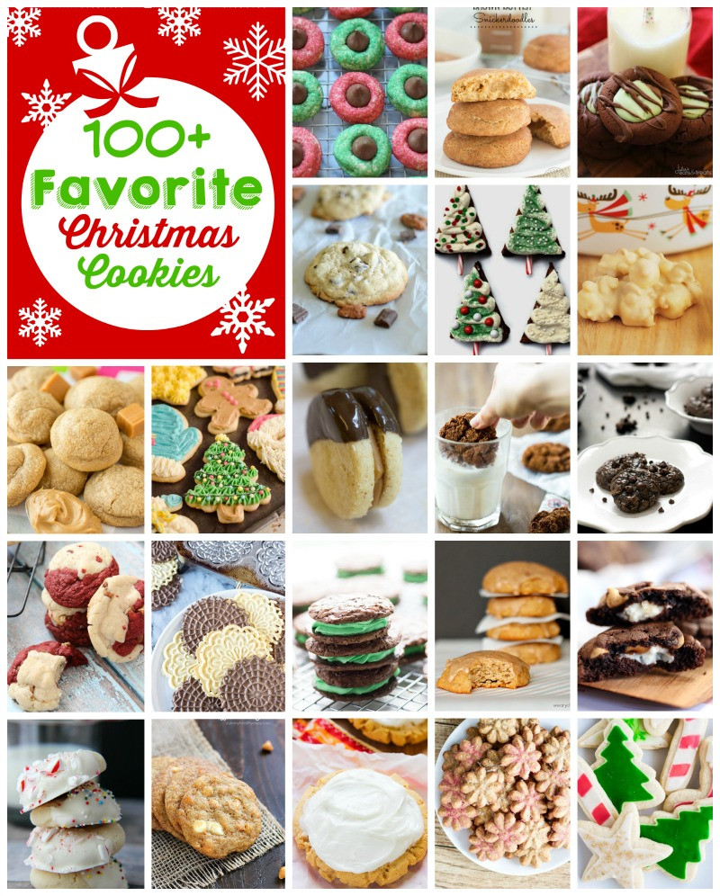 Favorite Christmas Cookies  100 Favorite Christmas Cookie Recipes