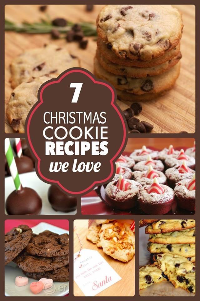 Favorite Christmas Cookies  7 Favorite Christmas Cookie Recipes