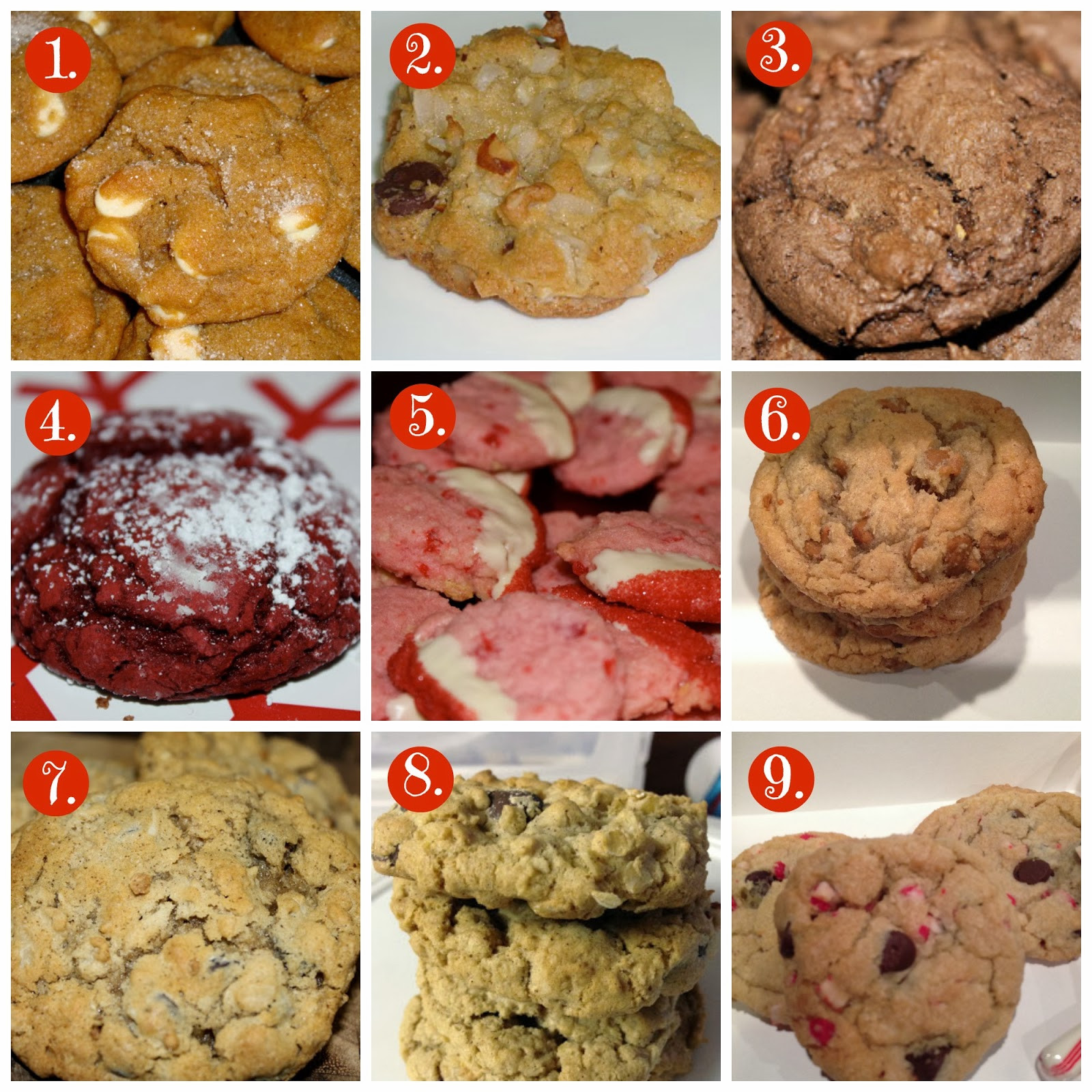 Favorite Christmas Cookies  simply made with love Favorite Christmas Cookies