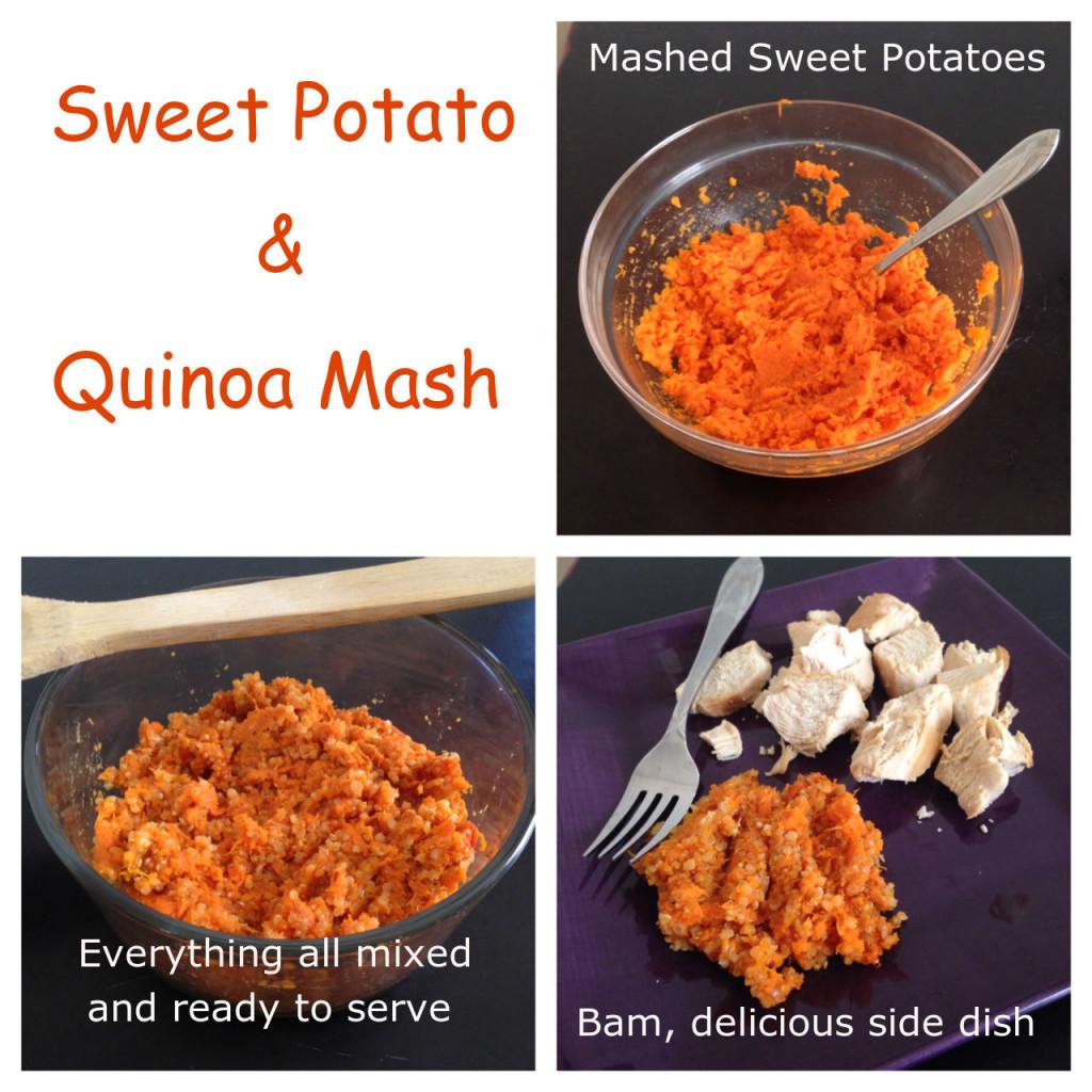 Fiber In Sweet Potato  sweet potato quinoa side dish ve arian vegan protein