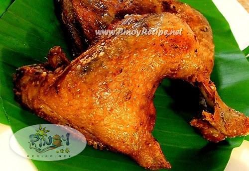 Filipino Fried Chicken  Filipino Fried Chicken Recipe by PinoyRecipe