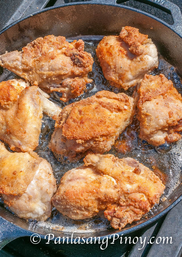 Filipino Fried Chicken  Pinoy Style Fried Chicken Panlasang Pinoy