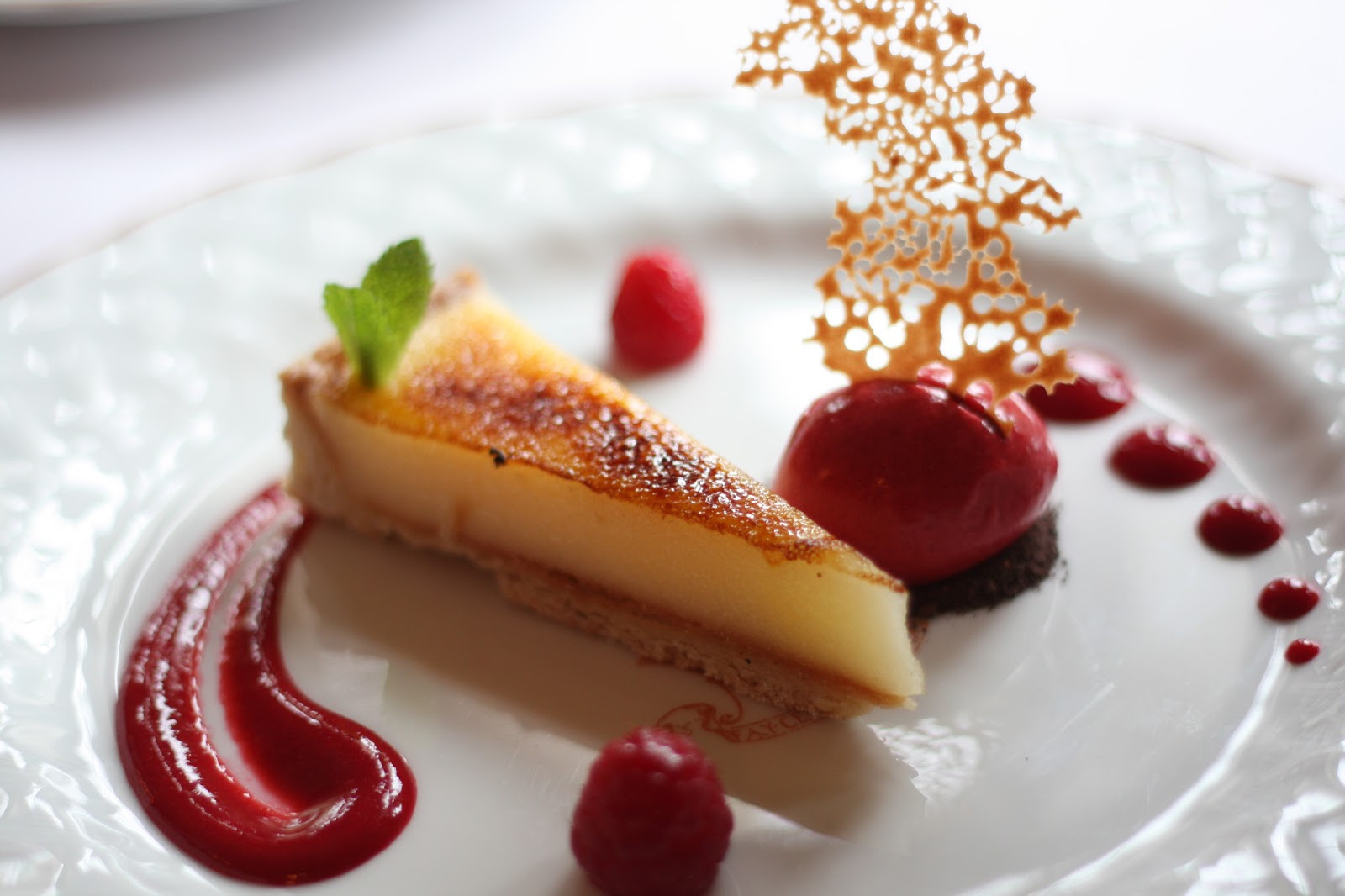Fine Dining Desserts  A Quirky Lifestyle Hambleton Hall and the Art of Fine Dining