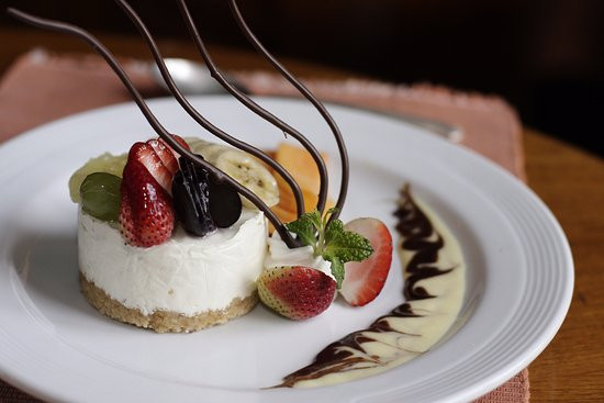 Fine Dining Desserts  e enjoy the sumptuous desserts at The Chimney Fine