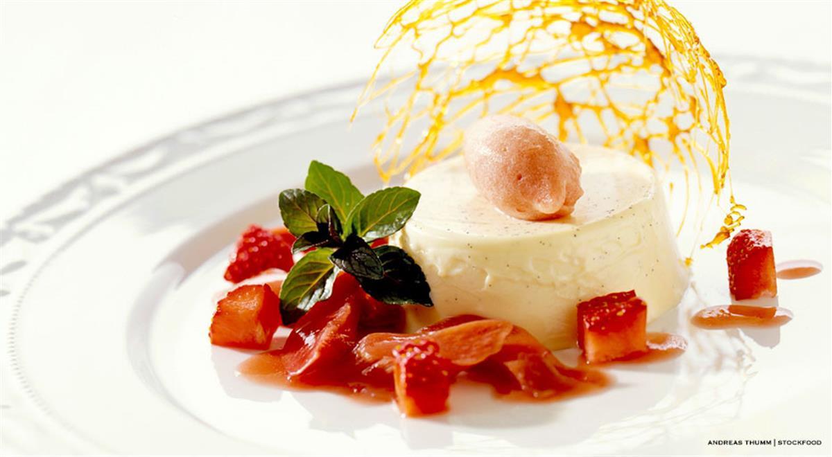 Fine Dining Desserts  Italian Panna Cotta Recipe all About the Italian Dessert