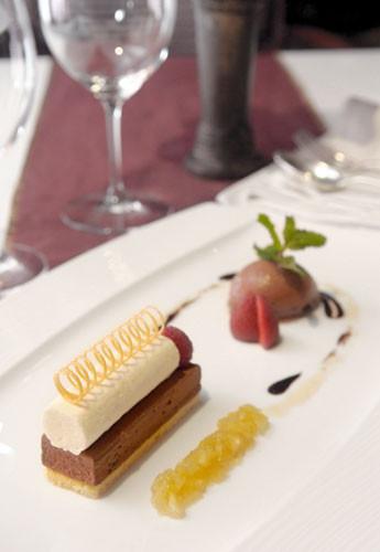 Fine Dining Desserts  Sriwijaya The Multi Texture and Taste of European Dessert