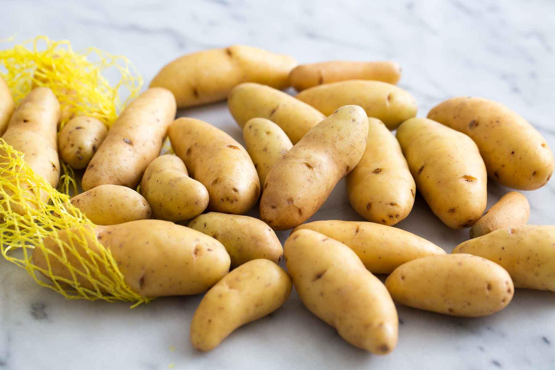 Fingerling Potato Recipe  Fingerling Potatoes with Herb Vinaigrette Recipe