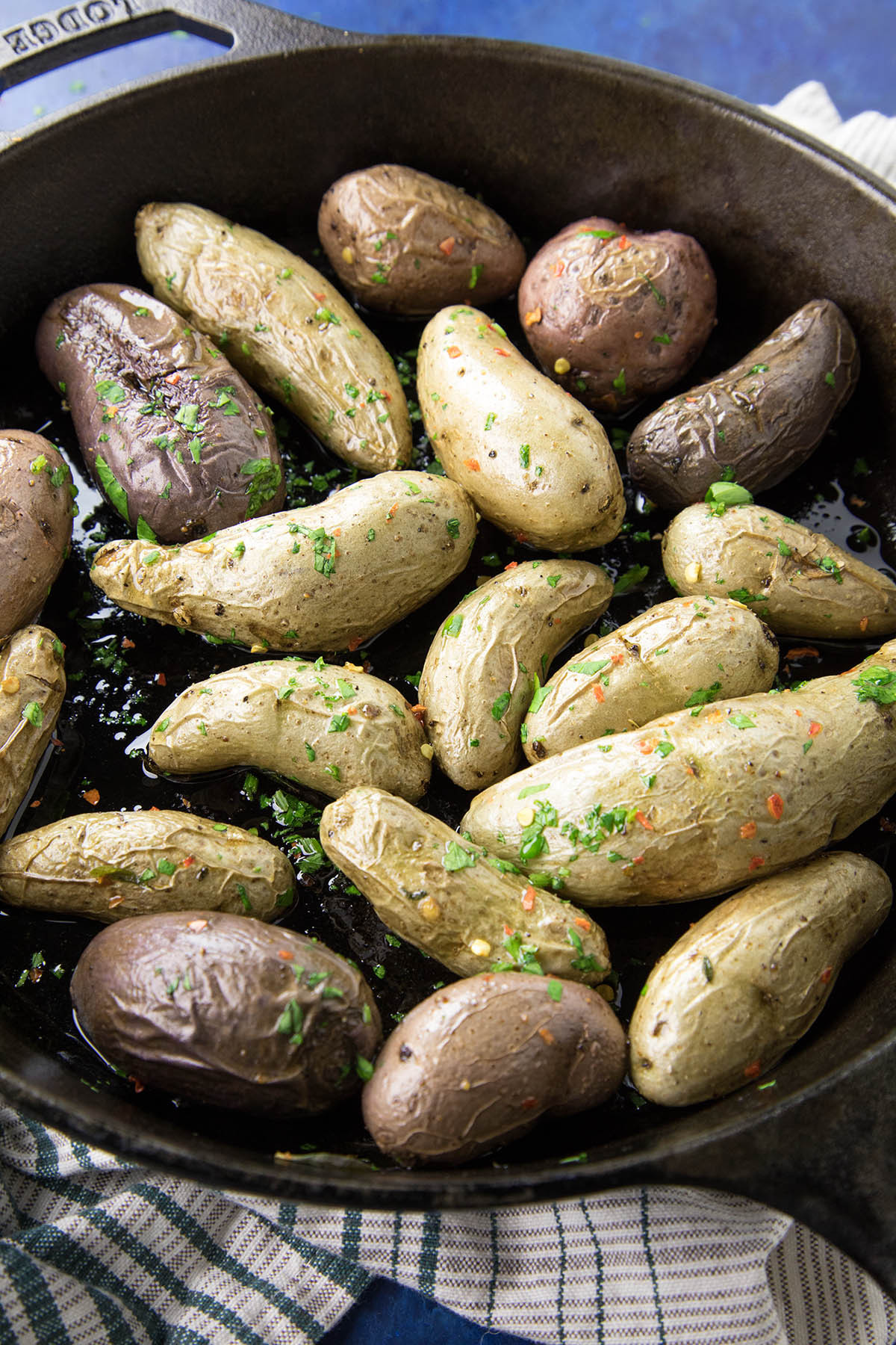 Fingerling Potato Recipe  Spicy Oven Roasted Fingerling Potatoes Chili Pepper Madness