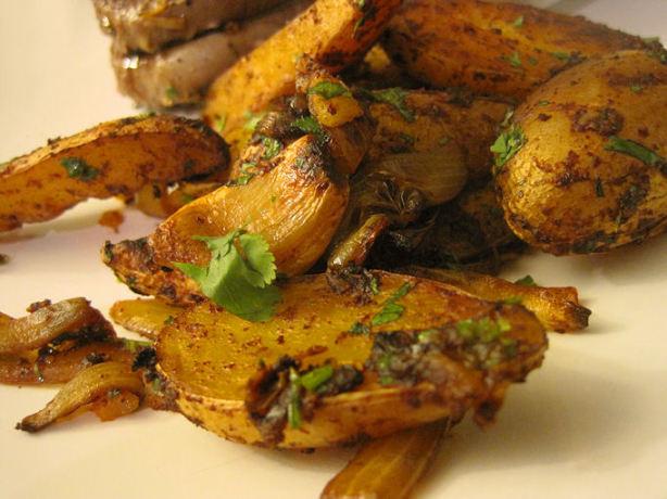 Fingerling Potato Recipe  Latin Roasted Fingerling Potatoes Recipe Food