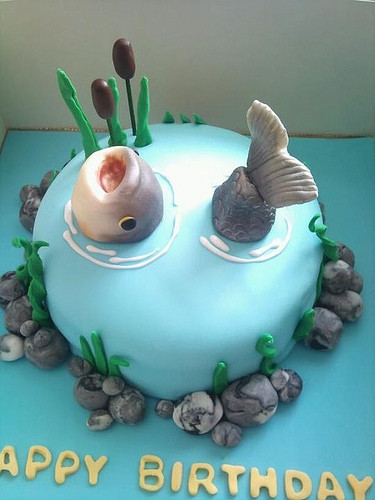 Fish Birthday Cake  Fish Birthday Cakes Via s Your Homemade