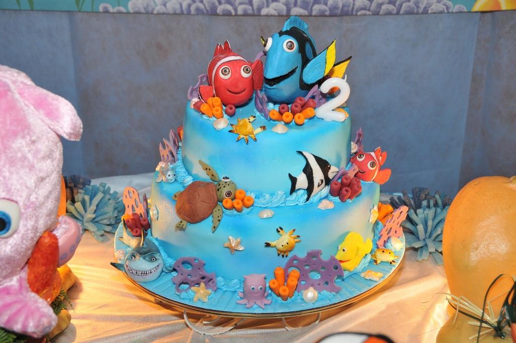 Fish Birthday Cake  from Carolina's Birthday Party part 1