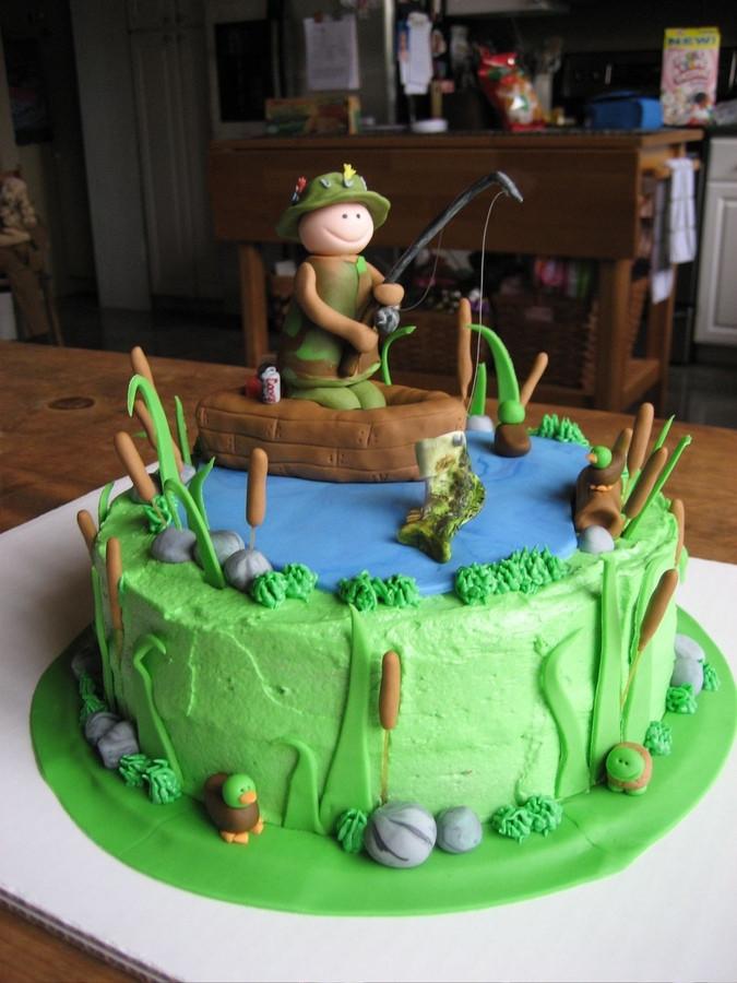 Fish Birthday Cake  Fishing Cakes – Decoration Ideas