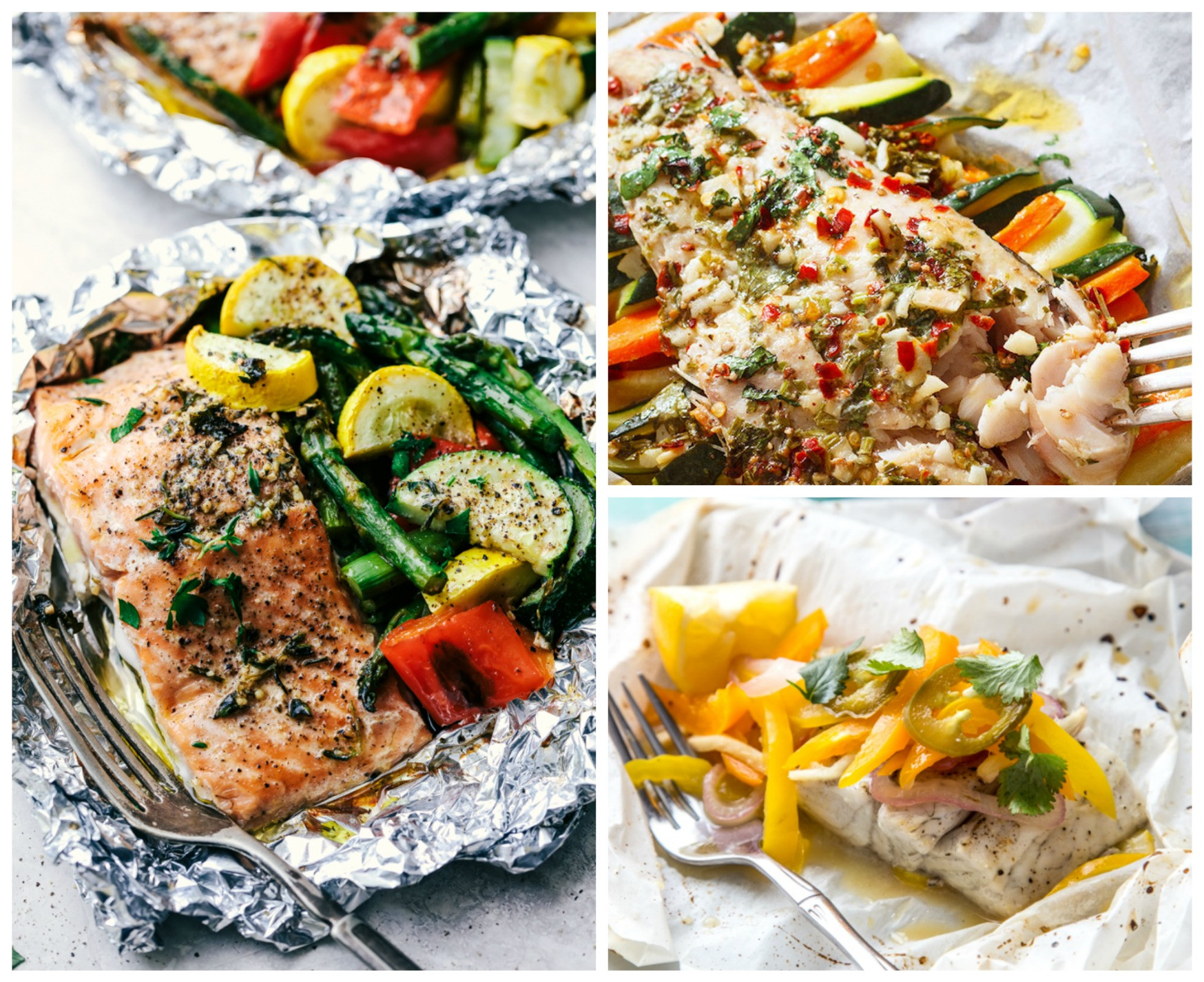 Fish Dinner Recipes  20 Easy Fish Foil Packet Dinners for Healthy Weight Loss