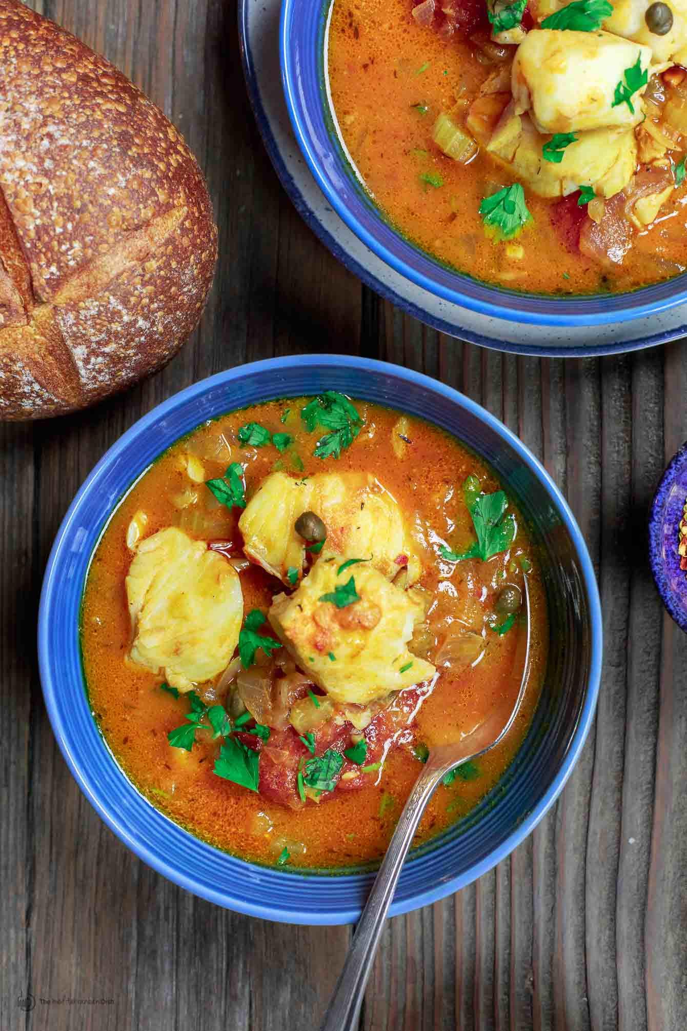 Fish Stew Recipe  Sicilian Style Fish Stew Recipe