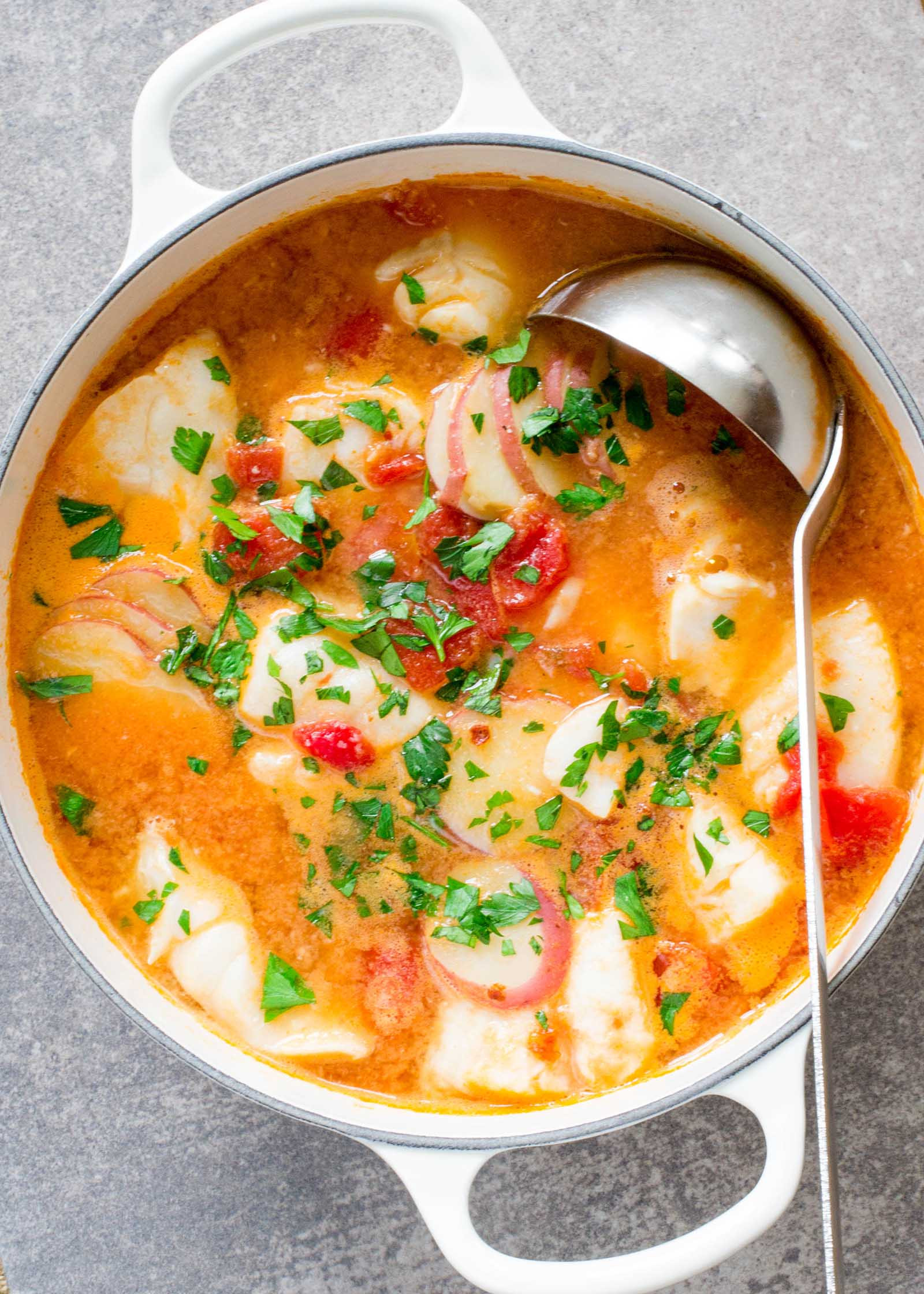 Fish Stew Recipe  Fish Stew with Ginger and Tomatoes Recipe