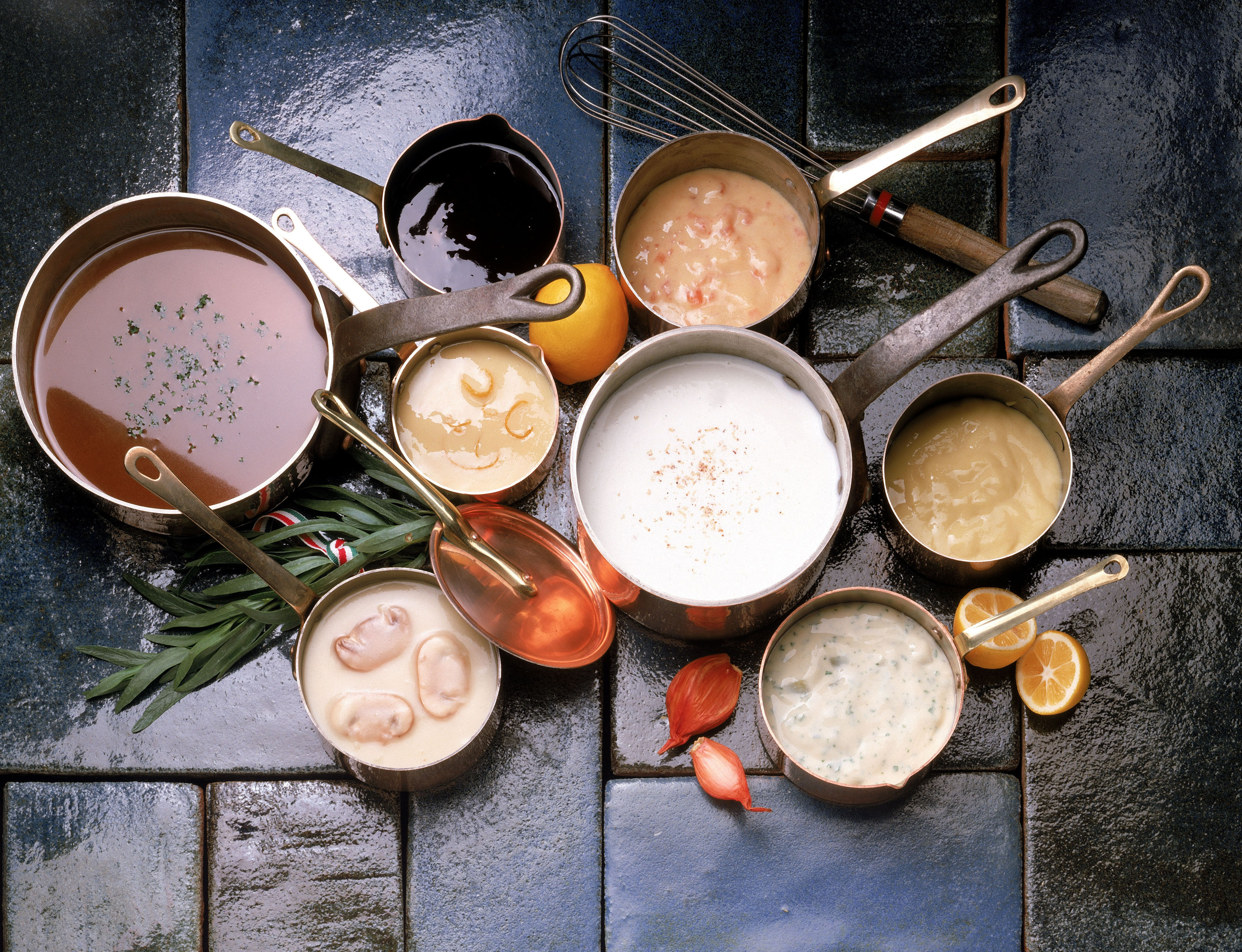 Five Mother Sauces  The Five Basic Mother Sauces of French Cuisine