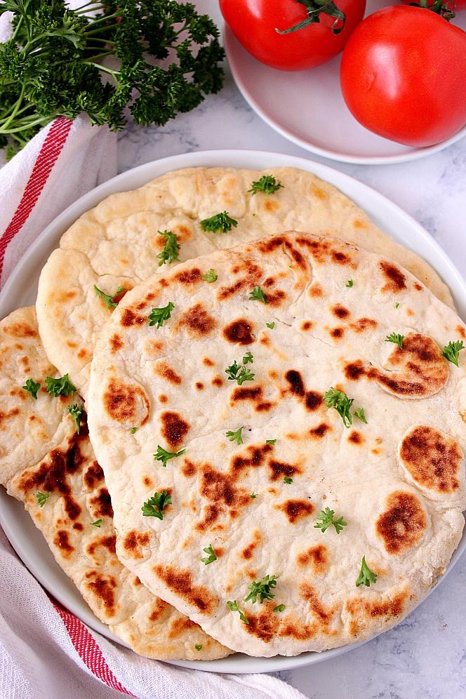 Flatbread Pizza Dough Recipe  Easy 2 Ingre nt Flatbread Recipe Crunchy Creamy Sweet