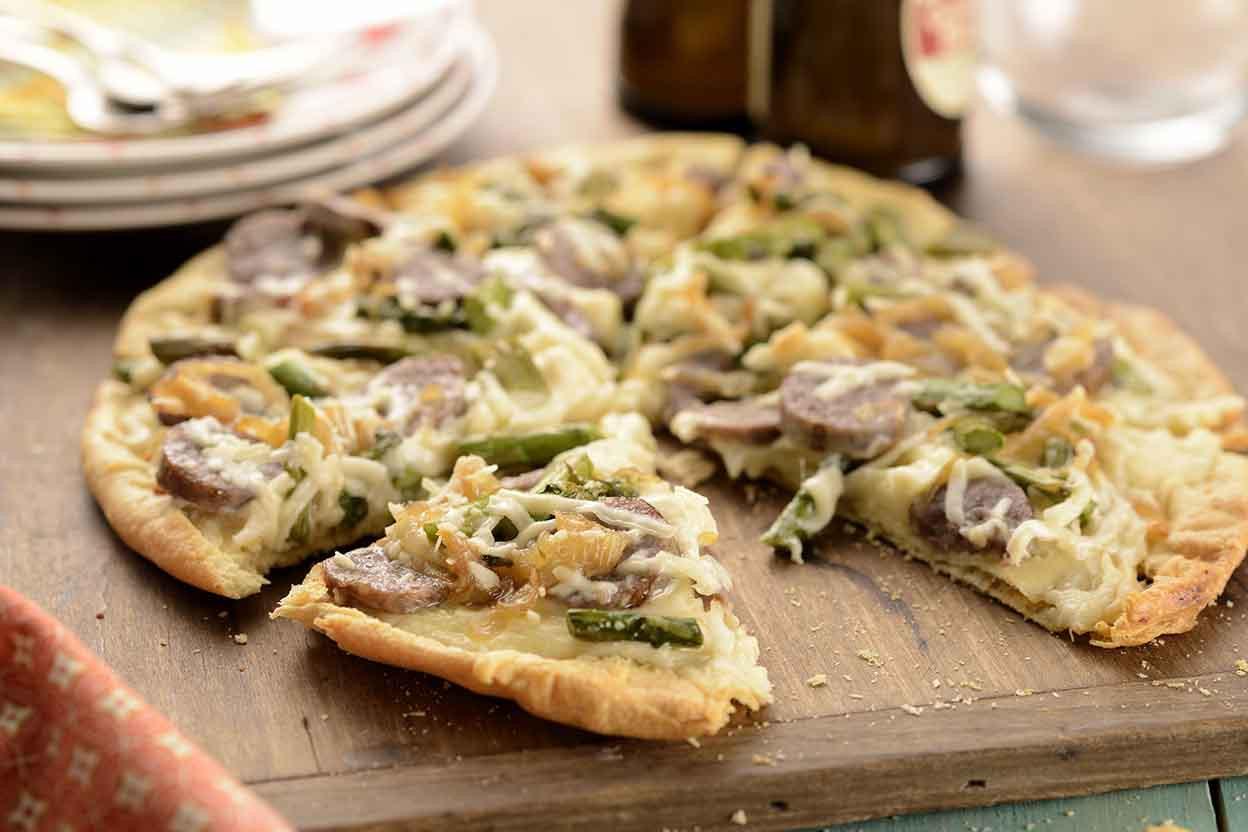 Flatbread Pizza Dough Recipe  Ultra Thin Pizza Crust Recipe