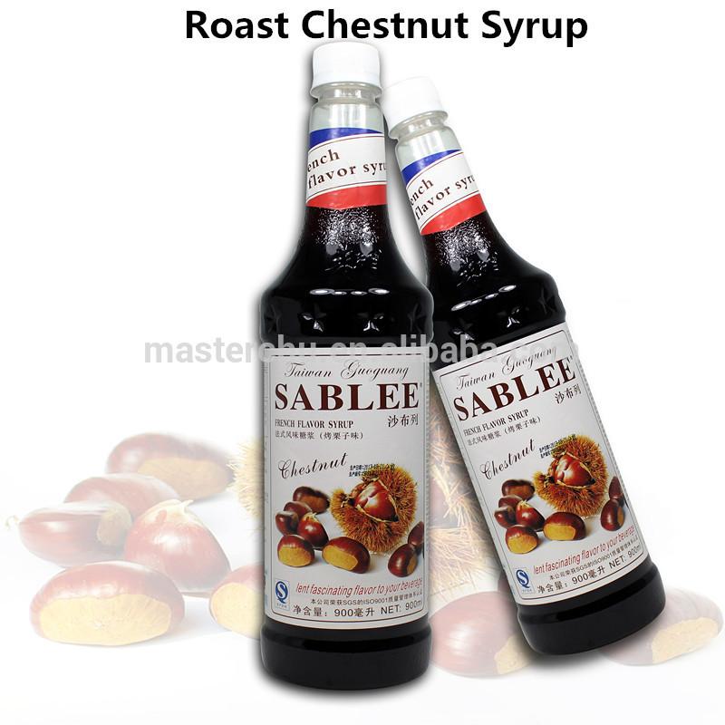 Flavored Syrups For Drinks  Sablee Roasted Chestnut Flavor Syrup For Beverage Drink