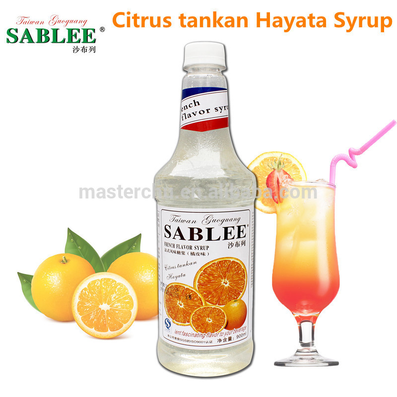 Flavored Syrups For Drinks  Citrus Tankan Hayata Flavor Syrup For Soft Drink
