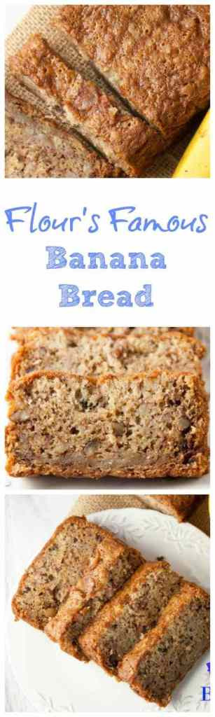 Flours Banana Bread  Flour s Famous Banana Bread Boston Girl Bakes