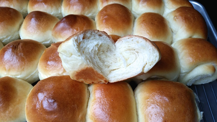 Fluffy Dinner Rolls  Perfectly Soft and Fluffy Dinner Rolls The Genetic Chef