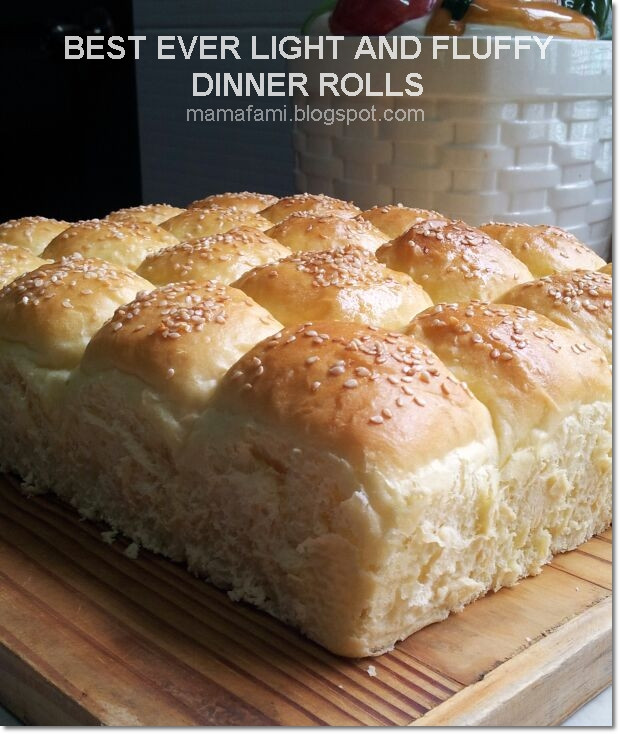 Fluffy Dinner Rolls  MamaFaMi s Spice n Splendour Best Ever Light And Fluffy