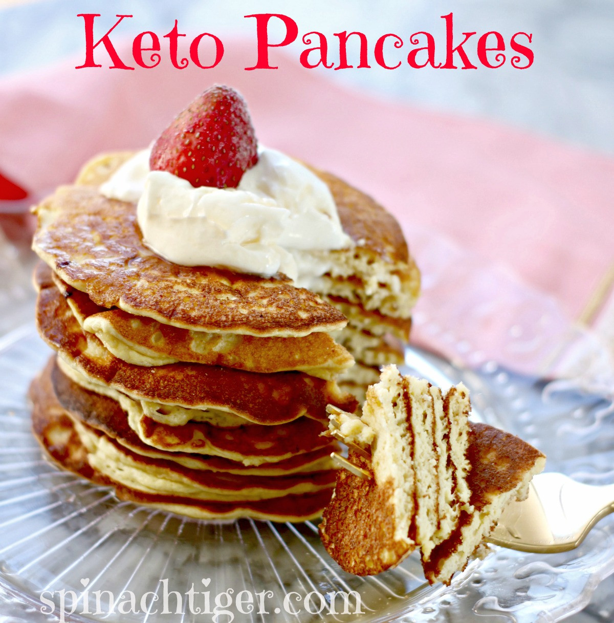 Fluffy Keto Pancakes  How to Make Best Fluffy Keto Pancakes Low Carb Paleo