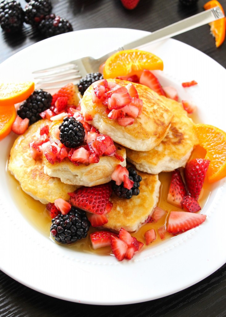 Fluffy Vegan Pancakes  Best Ever Extra Fluffy Vegan Pancakes Layers of Happiness