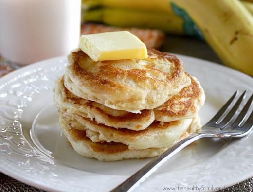 Fluffy Vegan Pancakes  Fluffy Vegan Pancakes