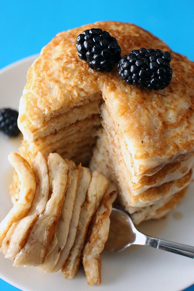 Fluffy Vegan Pancakes  Best Ever Fluffy Vegan Pancakes Sweet Like Cocoa