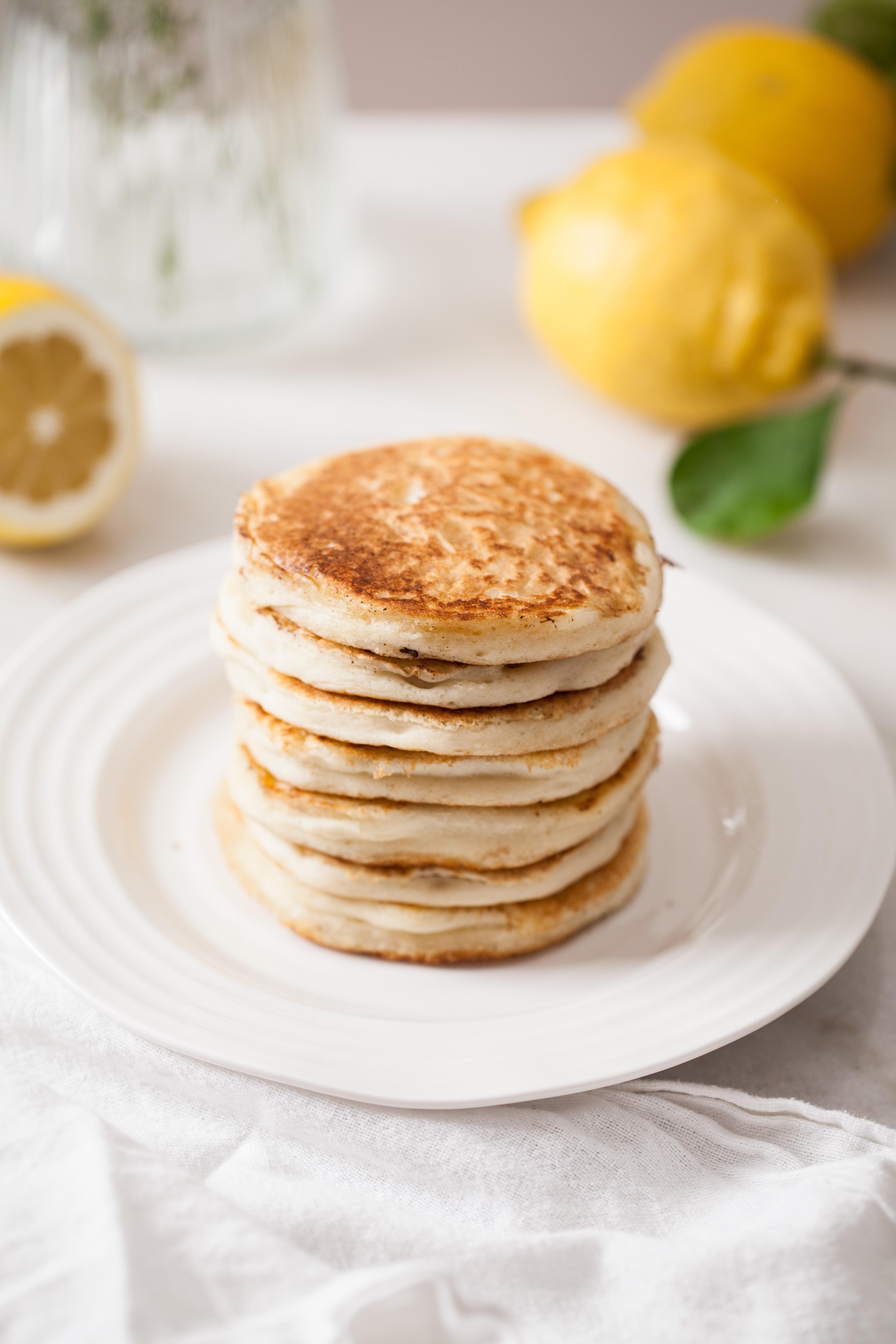 Fluffy Vegan Pancakes  Fluffy Vegan Pancakes Stacey Horler