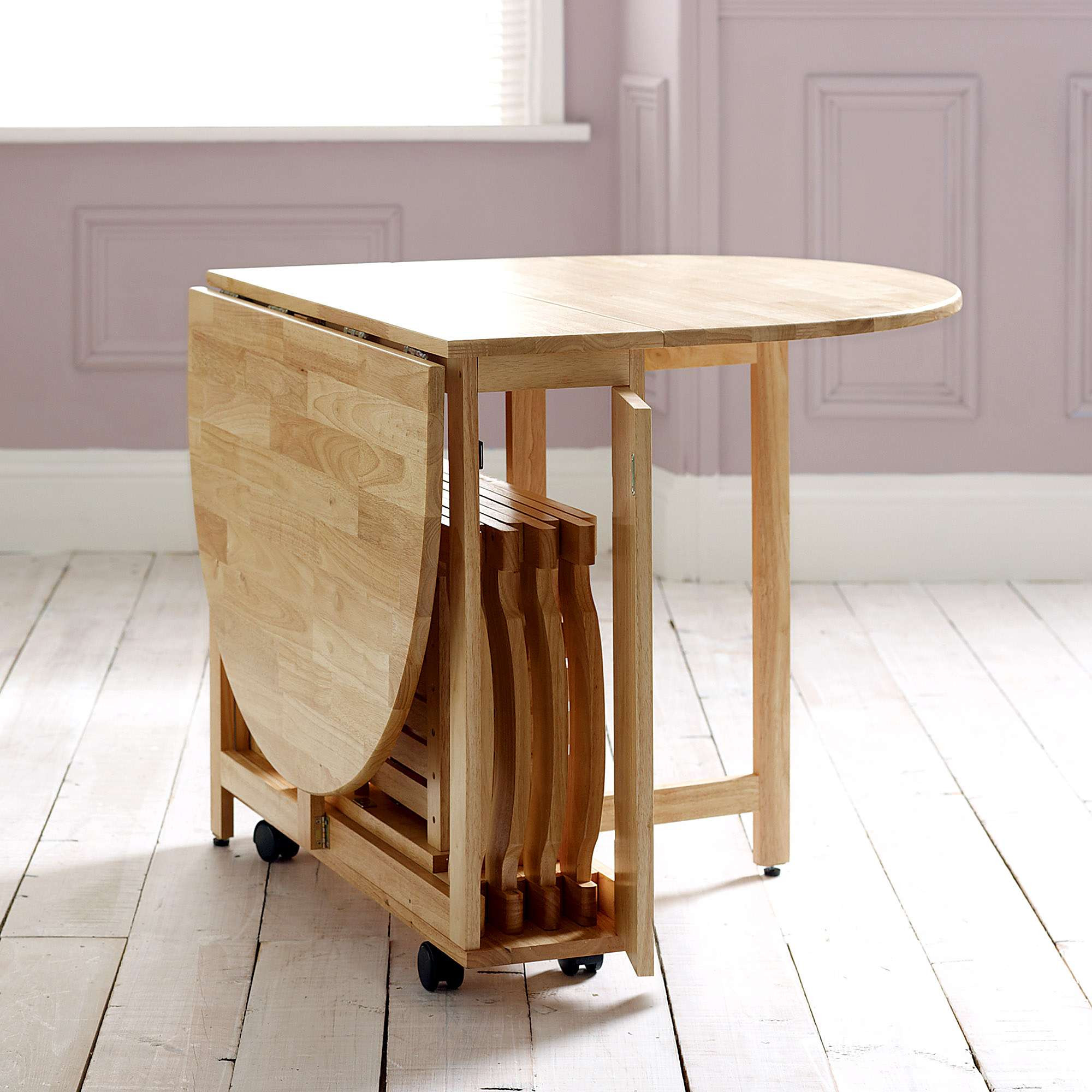 Folding Dinner Table  Choose a Folding Dining Table for a Small Space – Adorable