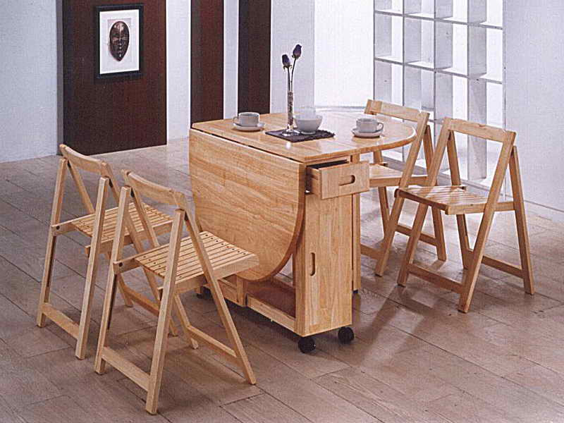 Folding Dinner Table  Folding Dining Table With Chairs