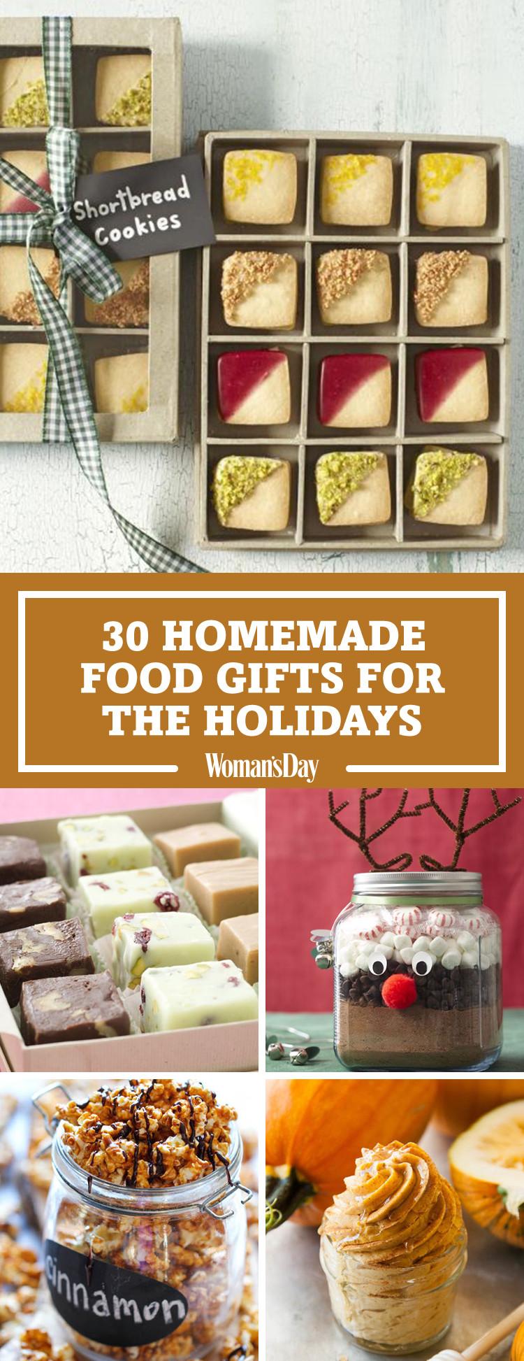 Food Gifts For Christmas  35 Homemade Christmas Food Gifts Best Edible Holiday